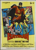 "Movie Posters:Action, Batman (20th Century Fox, R-1996). Italian 4 - Folio (55"" X 78"").Action...."