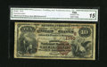 National Bank Notes:Kentucky, Richmond, KY - $10 1882 Brown Back Fr. 484 The Madison NB Ch. #(S)1790. ...
