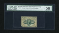Fractional Currency:First Issue, Fr. 1243 10c First Issue PMG Choice About Unc 58 Net....
