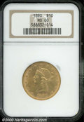 Liberty Eagles: , 1890 $10