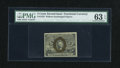 Fractional Currency:Second Issue, Fr. 1232 5c Second Issue PMG Choice Uncirculated 63 EPQ....