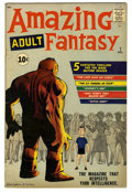 Silver Age (1956-1969):Adventure, Amazing Adult Fantasy #7 (Marvel, 1961) Condition: FN+....