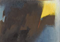 Texas:Early Texas Art - Modernists, DEFORREST JUDD (1916-1992). Untitled. Oil on canvasboard. 13in. x9in.. Signed lower right. Known for his landscape painti...