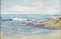 Texas:Early Texas Art - Impressionists, SEYMOUR THOMAS (1868-1956). Shore at Monterrey. Oil oncanvasboard. 10in. x 14in.. Unsigned, accompanied bycertificatio...