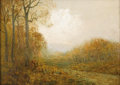 Texas:Early Texas Art - Impressionists, JULIAN ONDERDONK (1882-1922). November Afternoon, 1909. Oilon plywood. 9in. x 12in.. Signed lower left. Signed, dated a...