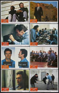 """Escape from Alcatraz (Paramount, 1979). Lobby Card Set of 8 (11"""" X 14""""). Thriller. Starring Clint Eastwood, Pa..."""