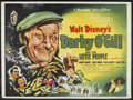 """Movie Posters:Fantasy, Darby O'Gill and the Little People (Buena Vista, 1959). BritishQuad (30"""" X 40""""). Fantasy. Starring Albert Sharpe, Janet Mun..."""