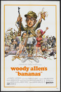 "Movie Posters:Comedy, Bananas (United Artists, 1971). One Sheet (27"" X 41""). Comedy.Starring Woody Allen, Louise Lasser, Natividad Abascal, Howar..."