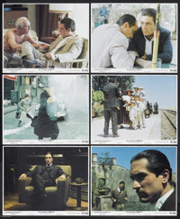 "The Godfather Part II (Paramount, 1974). Mini Lobby Cards (6) (8"" X 10""). Crime Drama. Starring Al Pacino, Rob..."