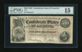Confederate Notes:1864 Issues, T64 $500 1864. This $500 saw some circulation action before Lee's surrender. PMG Choice Fine 15....