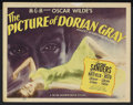 """Movie Posters:Horror, The Picture of Dorian Gray (MGM, 1945). Title Lobby Card (11"""" X 14""""). Horror. Starring George Sanders, Hurd Hatfield, Donna ..."""