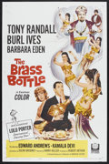 """Movie Posters:Comedy, The Brass Bottle (Universal, 1964). One Sheet (27"""" X 41""""). Comedy.Starring Tony Randall, Burl Ives, Barbara Eden, Edward An..."""