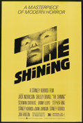 "Movie Posters:Horror, The Shining (Warner Brothers, 1980). One Sheet (27"" X 41""). Horror.Starring Jack Nicholson, Shelley Duvall, Scatman Crother..."