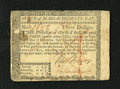 Colonial Notes:Massachusetts, Massachusetts May 5, 1780 $3 Extremely Fine. A formerly mountedpiece that has a pen cancellation as opposed to the usual pu...