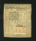 Colonial Notes:Delaware, Delaware January 1, 1776 20s About New. A single centerfold isfound on this very well margined and well embossed colonial....
