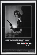 "Movie Posters:Crime, The Enforcer (Warner Brothers, 1977). One Sheet (27"" X 41""). Crime.Starring Clint Eastwood, Tyne Daly, Harry Guardino, Brad..."