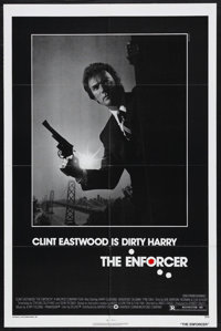 """The Enforcer (Warner Brothers, 1977). One Sheet (27"""" X 41""""). Crime. Starring Clint Eastwood, Tyne Daly, Harry..."""
