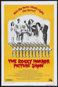 "The Rocky Horror Picture Show (20th Century Fox, 1975). One Sheet (27"" X 41"") Style B. Rock Musical. Starring..."
