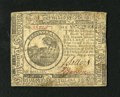 Colonial Notes:Continental Congress Issues, Continental Currency May 9, 1776 $6 Very Fine-Extremely Fine. Thepaper surfaces are really a little too soily for this bold...