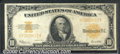 Large Size Gold Certificates:Large Size, 1922 $10 Gold Certificate, Fr-1173, VF. The note is at the lowe...