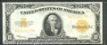 Large Size Gold Certificates:Large Size, 1922 $10 Gold Certificate, Fr-1173, VF-XF. There are three heav...
