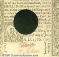 Colonial Notes:Connecticut, July 1, 1780, 40s, Connecticut, CT-240, AU. A bright, clean not...