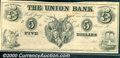 Miscellaneous:Other, $5, The Union Bank, AU. No location noted on this interesting n...
