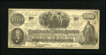 Confederate Notes:1862 Issues, CT41/316b Counterfeit $100 1862. . ...