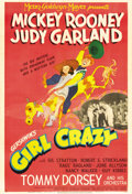 """Movie Posters:Musical, Girl Crazy (MGM, 1943). One Sheet (27"""" X 41"""") Style C...."""
