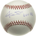 "Autographs:Baseballs, Willie Mays ""660 HR"" Single Signed Baseball. For those who grew upwatching the ""Say Hey Kid"" play for the Giants, it's not..."