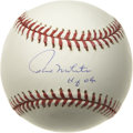 "Autographs:Baseballs, Paul Molitor ""HOF 04"" Single Signed Baseball. The AL Rookie of theYear for the 1978 season, Paul Molitor carved out a cons..."