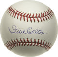 Autographs:Baseballs, Steve Carlton Single Signed 1980 World Series Baseball. You'll behard-pressed to find a nicer example of an official baseb...