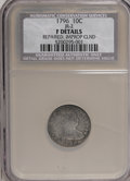 Early Dimes, 1796 10C --Repaired, Improperly Cleaned--NCS. Fine Details....