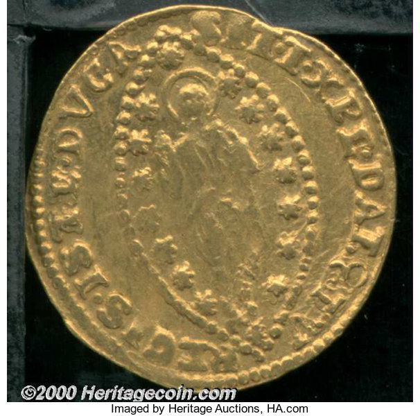 World Coins Currency Italy Venice Gold Zno Of Doge Carlo Ruzzini Nd