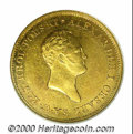 World Coins & Currency: , Poland, Alexander I gold 50 zlotych 1820-IB, Head right/Cro...