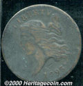 1793 1/2C Fine 12 Light Porosity. B-3, C-3, R.3. The porosity manifests itself in a milky-gray haze over both sides. The...