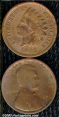 Indian Cents: , Multiple Coin Lot...