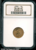 Indian Cents: , 1904 1C, RD