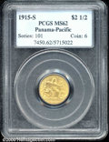 Commemorative Gold: , 1915-S $2 1/2 PAN-PAC