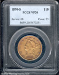 Liberty Eagles: , 1870-S $10