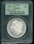 1878 7TF $1 Reverse of 1878 MS 65 Prooflike PCGS. A more difficult issue to locate with a Prooflike finish, this sparkli...