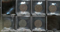 Draped Bust Large Cents: 1798 1C First Hair Style VF 20 PVC; 1798 Second Hair Style VF 20 PVC; 1798 8 Over 7 Fine 12 Dar...