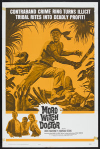 """Moro Witch Doctor (20th Century Fox, 1964). One Sheet (27"""" X 41""""). Action. Starring Jock Mahoney and Margia De..."""