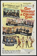 """Movie Posters:Comedy, Get Yourself a College Girl (MGM, 1964). One Sheet (27"""" X 41"""").Rock Musical. Starring The Dave Clark Five, The Animals, Sta..."""