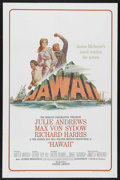 "Movie Posters:Drama, Hawaii (United Artists, 1966). One Sheet (27"" X 41""). Drama.Starring Julie Andrews, Max von Sydow, Richard Harris, Carroll ..."