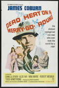 "Movie Posters:Crime, Dead Heat on a Merry-Go-Round (Columbia, 1966). One Sheet (27"" X 41""). Crime Comedy. Starring James Coburn, Camilla Sparv, A..."