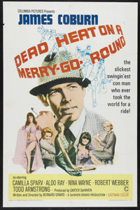 "Dead Heat on a Merry-Go-Round (Columbia, 1966). One Sheet (27"" X 41""). Crime Comedy. Starring James Coburn, Ca..."