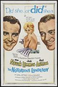 """Movie Posters:Comedy, The Notorious Landlady (Columbia, 1962). One Sheet (27"""" X 41"""").Mystery Comedy. Starring Kim Novak, Jack Lemmon, Fred Astair..."""