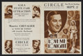 """Movie Posters:Musical, Love Me Tonight (Paramount, 1932). Herald (7"""" X 9.5""""). MusicalComedy. Starring Maurice Chevalier, Jeanette MacDonald, Charl..."""