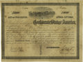 Confederate Notes:Group Lots, Ball 150 Cr. 113 $11,000 1862 Bond Fine. This hand-writtendenominated bond only had 181 examples issued. They were issuedi...
